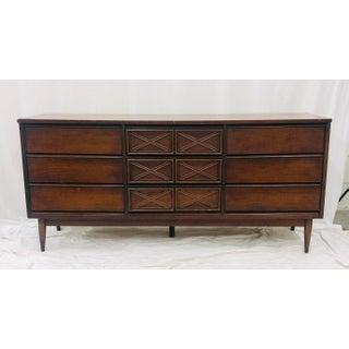 Vintage Mid Century Modern Credenza Dresser Preview