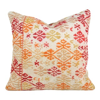 Turkish Multi-Colored Kilim Pillow Cover For Sale