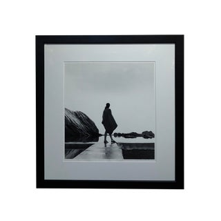 """Contemporary Original Silver Gelatin Photograph """"Woman by the Pool"""" by Rex Dupain For Sale"""