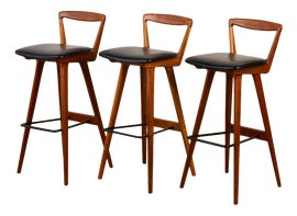 Image of Danish Modern Bar Stools