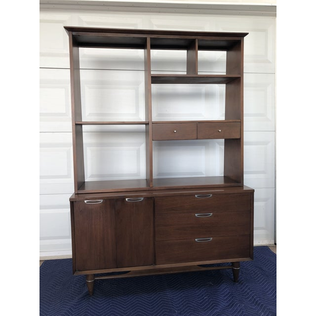 1960s Mid Century Modern Broyhill Premier Accent Line Hutch For Sale - Image 13 of 13