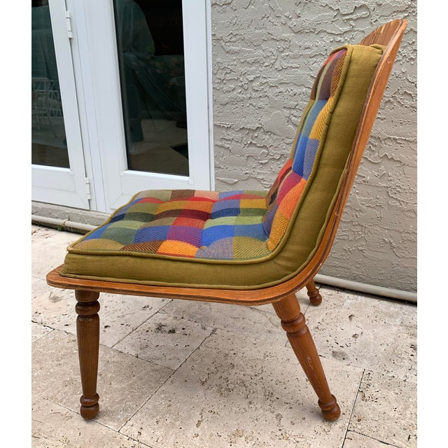 Rare and unusual Mid Century Modern iconic Scoop Chair 200 made by Carter Brothers in the mid 50s. It has been found in an...