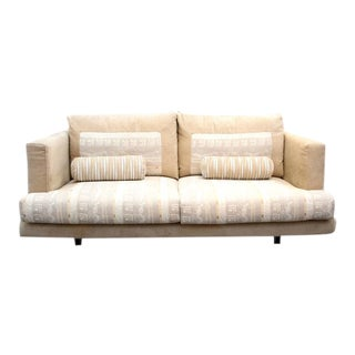 Settee Loveseat by Giorgio Saporiti for His Firm Il Loft in Original Fabric For Sale