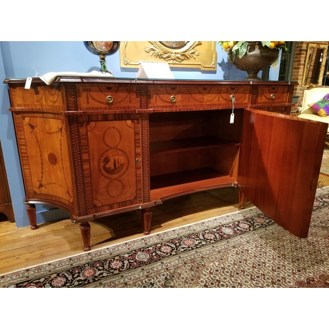 Late 20th Century David Michael English Style Sideboard From Winston Churchill Suite of Waldorf Astoria For Sale - Image 5 of 13