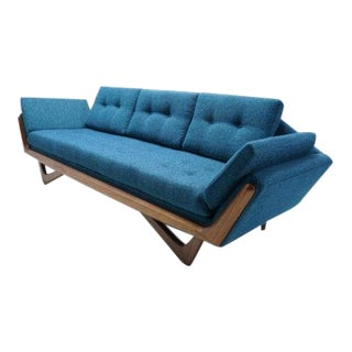Mid Century Pearsall Gondola Style Sofa For Sale