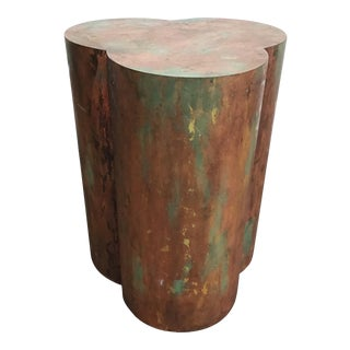 Mid Century Copper Table Base For Sale