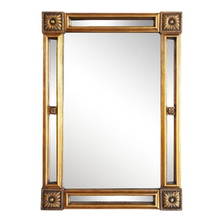 Vintage Late 20th Century Gilt-Wood Wall Mirror For Sale