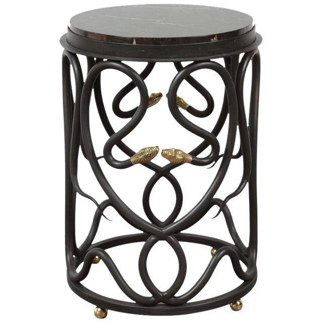 Snake Side Table by Paul Marra For Sale