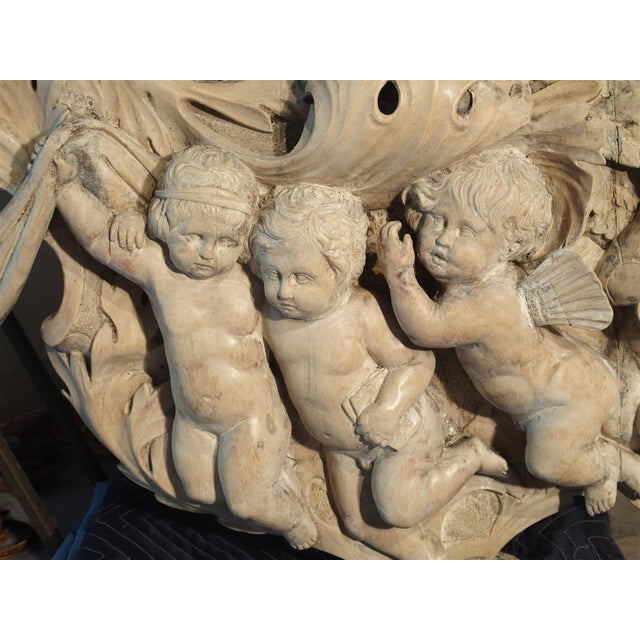 Monumental 19th Century Baroque Mirror from Italy For Sale - Image 10 of 11