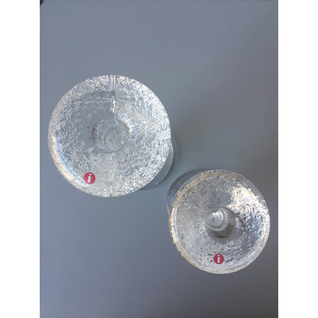 Iittala Festivo Candle Holders - A Pair - Image 2 of 3