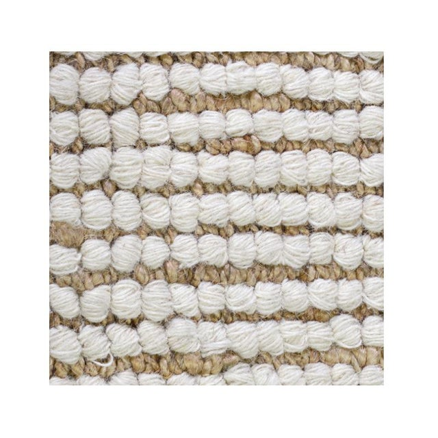 Modern Hudson Ivory Jute Rug - 5' x 8' For Sale - Image 3 of 3