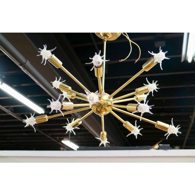 Mid 20th Century Sputnik Starburst Chandelier For Sale - Image 5 of 5