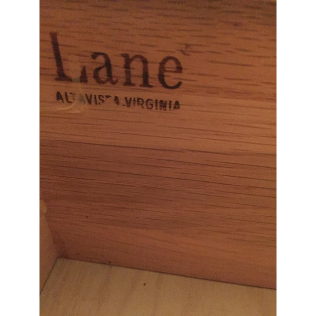 Lane Campaign Style Side Table/Night Table - Image 8 of 8