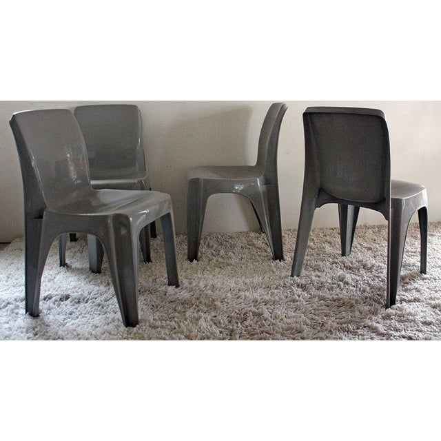 Mid-Century Modern Furey Sebel Furniture Aus Integra Chairs Set of 4 For Sale - Image 3 of 5