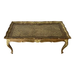 19th C Florentine Law Table For Sale