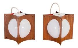 Image of Teak Pendant Lighting