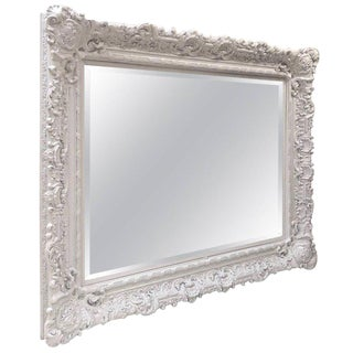 Large Ornate Decorative Mirror