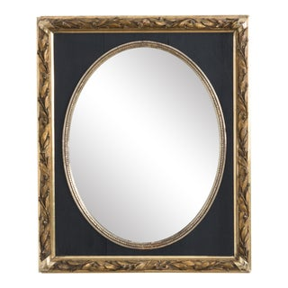Antique Oval Napoleon III Mirror For Sale