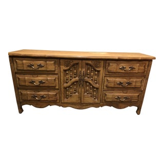 20th Century French Provincial Dixie Buffet Sideboard For Sale