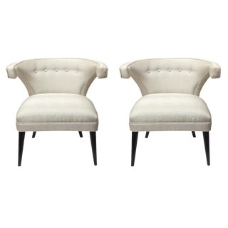 Pair of Mid Century Modern Tommi Parzinger Side Chairs For Sale