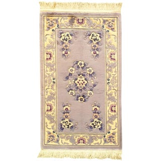 Pasargad Chines Art Deco Gray Rug - 3′1″ × 5′1″ For Sale