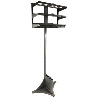 Industrial Design Steel Coat Rack Hat Stand Umbrella Stand Office Valet For Sale