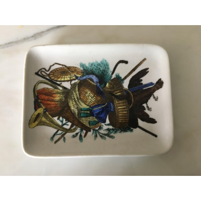 Vintage Fornasetti Decorative Trinket Dish, Tray, Plate, Accessories - Image 6 of 6