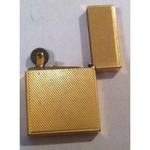 14k Gold Lighter Signed B&A For Sale - Image 6 of 10