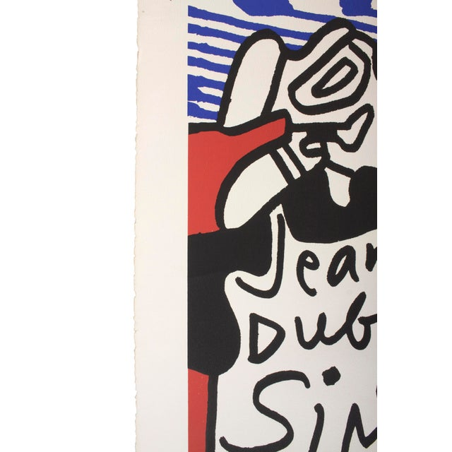 Paint Jean DuBuffet Original Lithograph - Simulacres Pace Gallery New York For Sale - Image 7 of 10