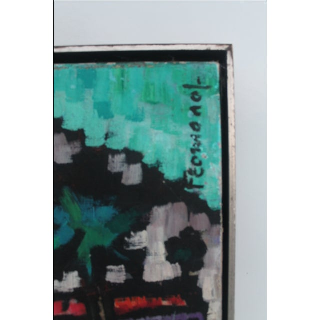 Cityscape Abstract Painting by Feomanol - Image 7 of 11