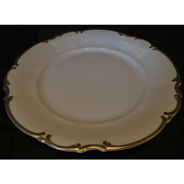 Metal Vintage Hutschenreuther Brighton Dinner Plates - Set of 6 For Sale - Image 7 of 13