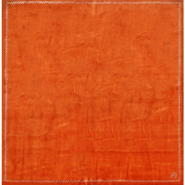Boccara Exclusive Limited Edition Artistic Wool Rug, Hermès For Sale