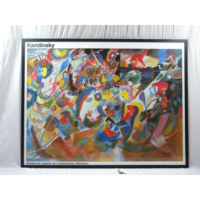 Vintage Monumental Kandinsky Framed Print - Image 2 of 4