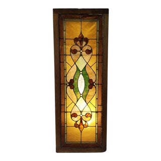 1900's Stained Glass Windows For Sale