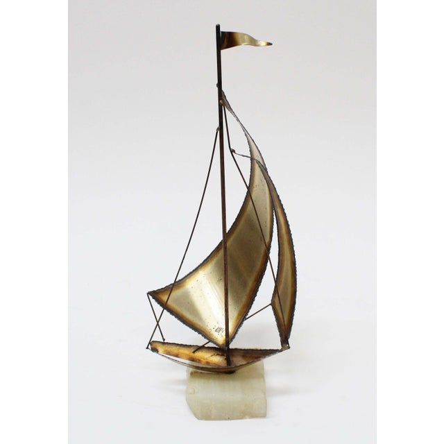John Perry Brass Boats - Set of 3 For Sale - Image 4 of 9
