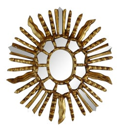 Image of Transitional Sunburst Mirrors