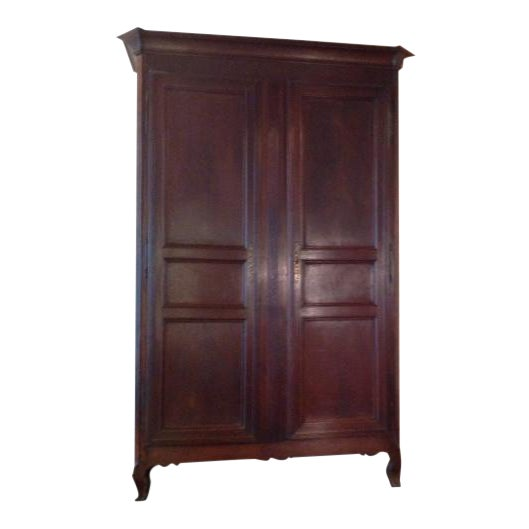 Late 19th Century Vintage French Armoire For Sale
