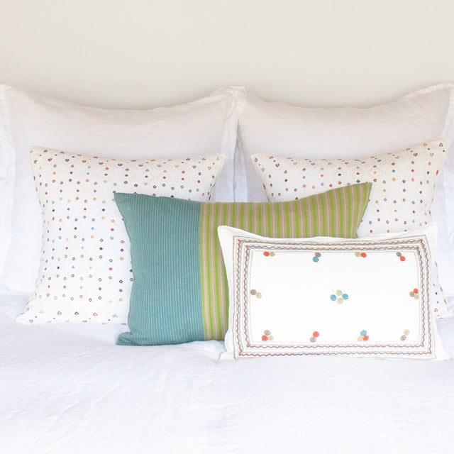 Highlands Striped Pillow Covers - A Pair - Image 3 of 3