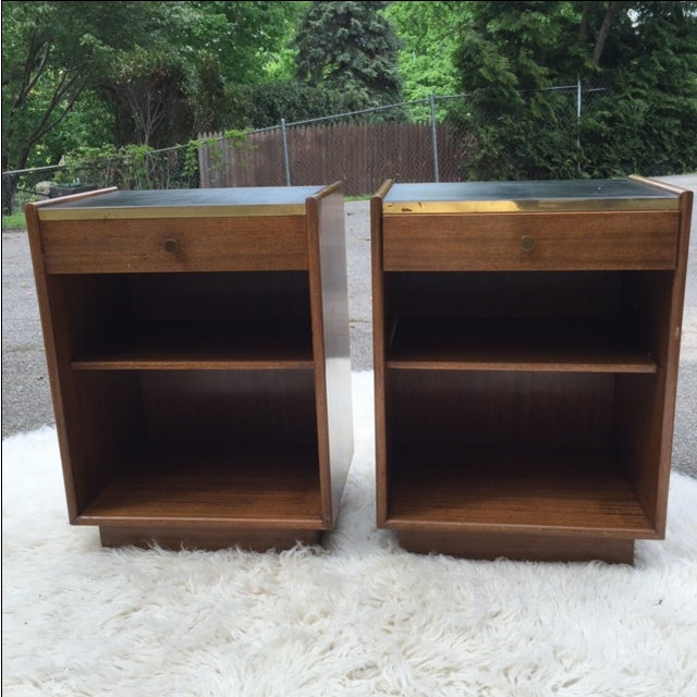 Harvey Prober Bedside Tables - Pair - Image 3 of 11