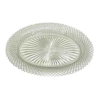 Fostoria Miss America Pattern Depression Glass Bowl For Sale
