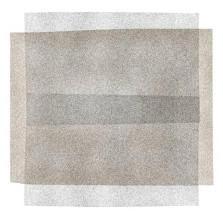 "Fawn & Slate Grey ""Soft Geometry"" Print For Sale"