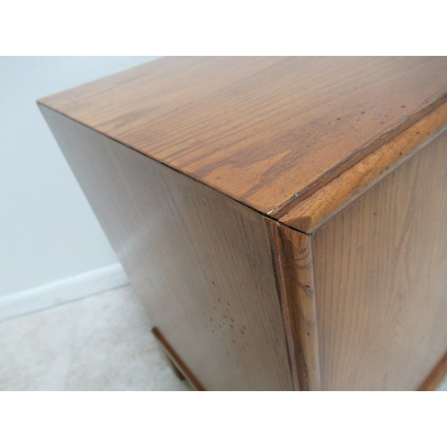 1980s Vintage Century Furniture Asian Inspired Sobota Bachelors Chest For Sale - Image 10 of 13