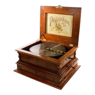 19th Century Polyphone Regina Music Box