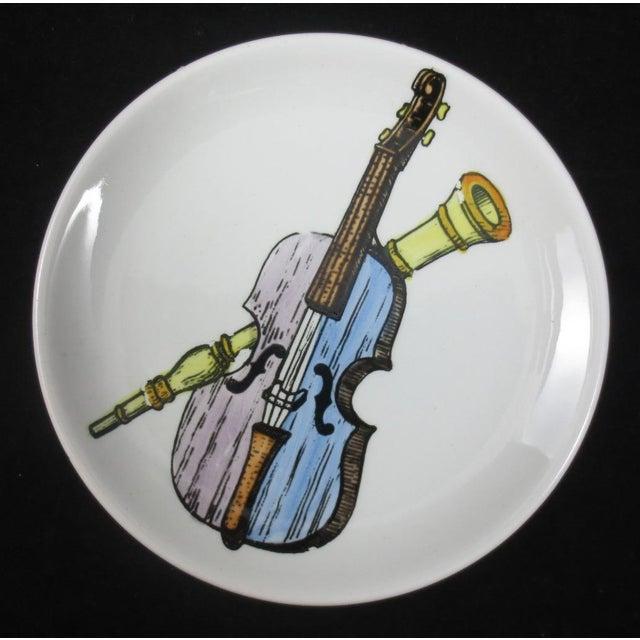 Mid-Century Bucciarelli Musical Coasters - Set of 8 For Sale - Image 10 of 12
