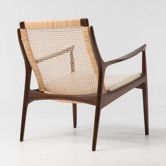 Mid-Century Modern Mid Century Modern Ib Kofod Larsen Selig Armchair For Sale - Image 3 of 13