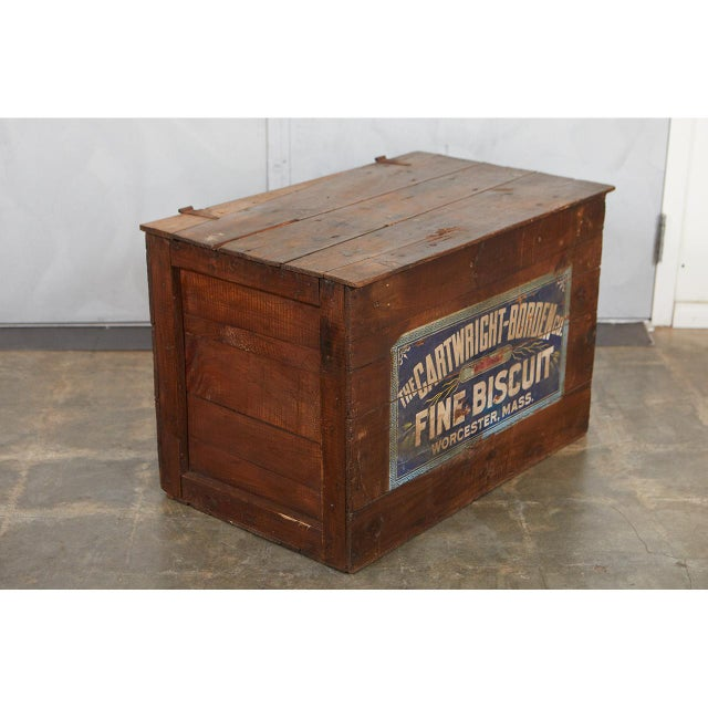 Large Crate with Advertising For Sale In Los Angeles - Image 6 of 8