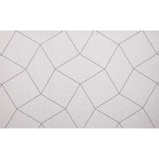 Sample, Maya Romanoff Cozy Day Dreamer: Cotton/Charcoal - Woven Wool Wallcovering For Sale