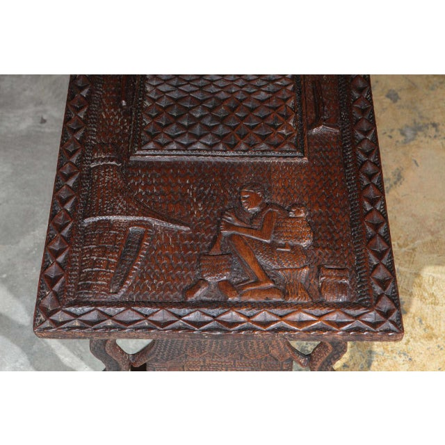 1940s African Coffee Table For Sale - Image 5 of 8