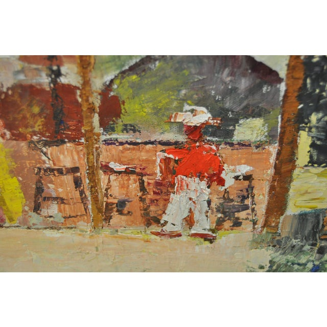 Vintage Oil Painting by Alice Rosman - Image 4 of 6