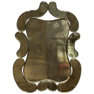 1940s Vintage Marchand Mirror For Sale